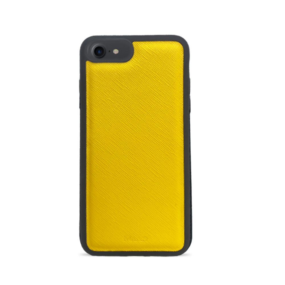 Saffiano - Yellow IPhone 7/8/SE Case