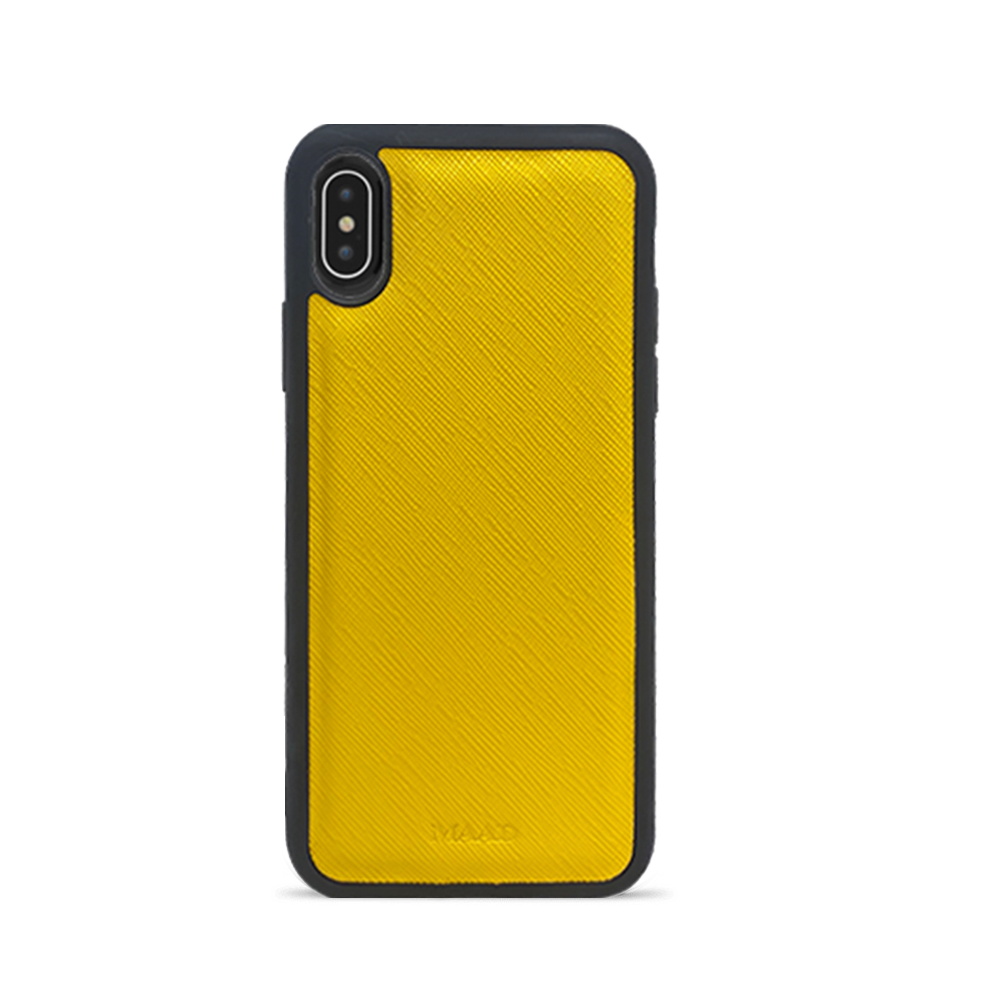 Saffiano - Yellow IPhone X/XS Case