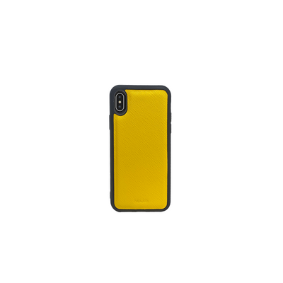 Saffiano - Yellow IPhone XS MAX Case