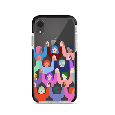 United - IPhone XR Clear Case