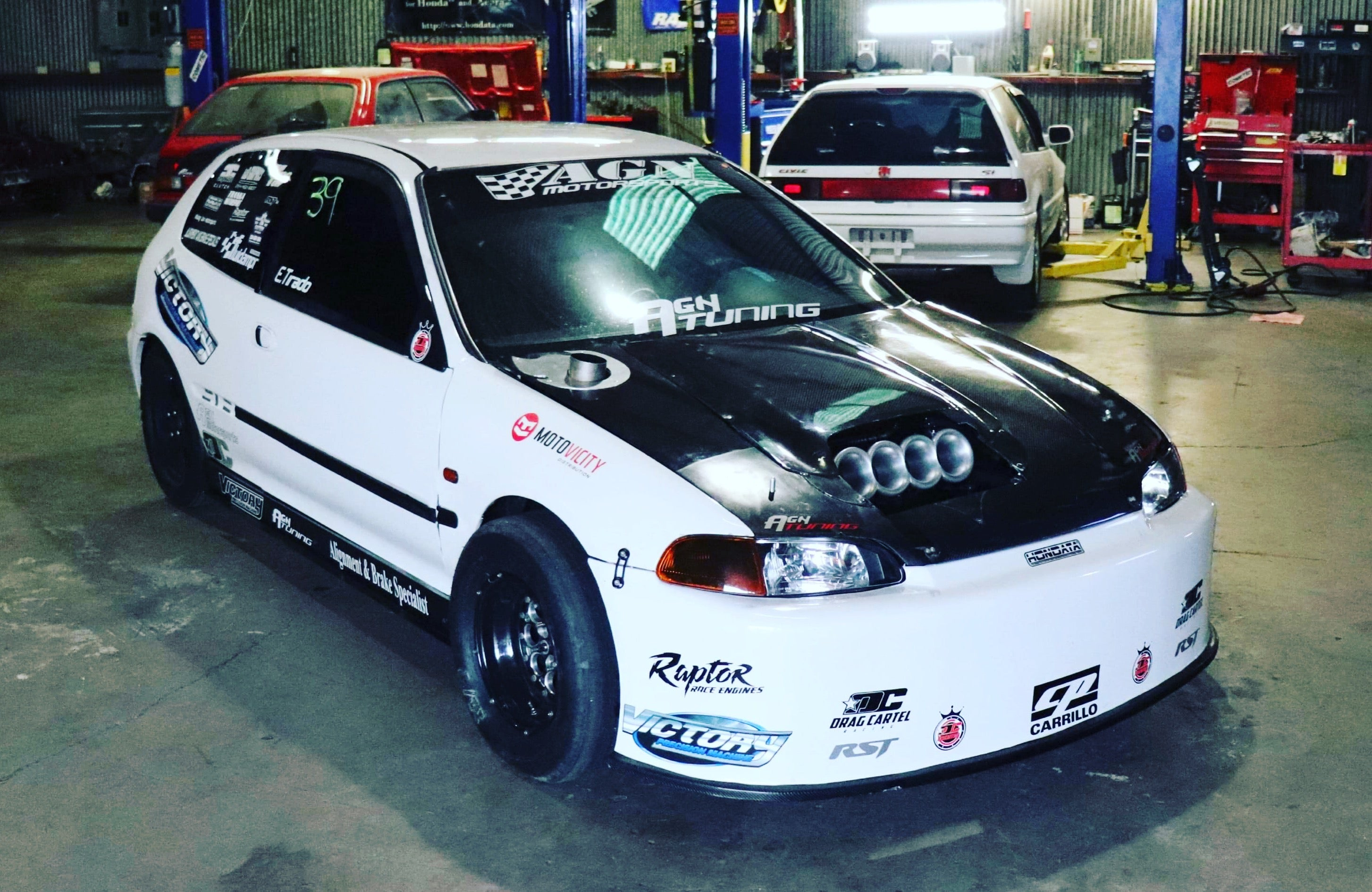 AGN Motorsports K-series drag racing