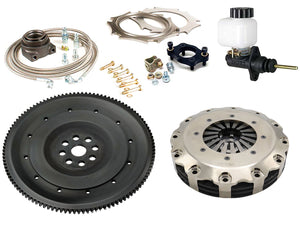B-series Clutch-Flywheel Assemblies Carbon Racing Clutches Kit