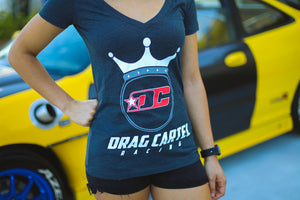 Drag Cartel Ladies V-Neck Shirt