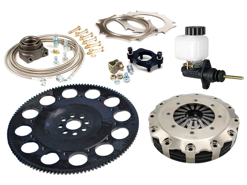 K-series Clutch-Flywheel Assemblies Carbon Racing Clutches