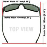 Modello Clear/Smoke Lens 153mm Wide Frames