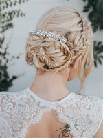 """COLLETTE"" HAND BEADED BRIDAL HAIR BAND - EVERY BRIDE BRIDAL"