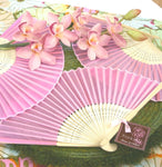 Colored Silk Fans (25)