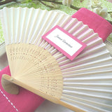 Colored Silk Fans (25) - EVERY BRIDE BRIDAL