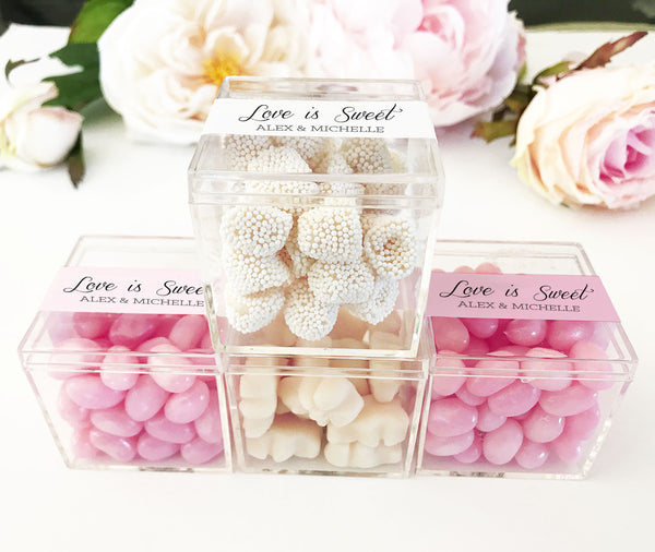 Acrylic Favor Boxes (20) - EVERY BRIDE BRIDAL