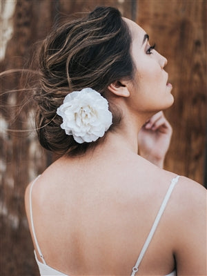 """GENTRY"" HAIR FLOWER - EVERY BRIDE BRIDAL"