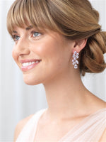 Scattered Vine CZ Earrings - EVERY BRIDE BRIDAL