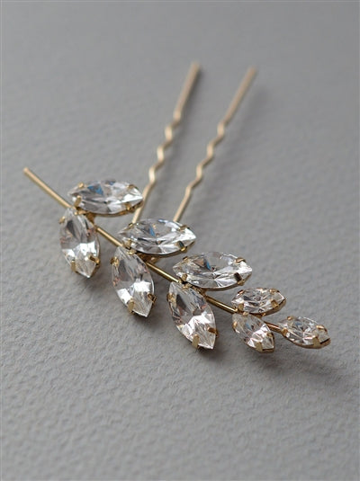 Mali Floral Hairpin - EVERY BRIDE BRIDAL