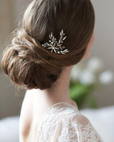 Kaia Crystal Hair Pin - EVERY BRIDE BRIDAL