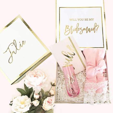Bridesmaid Proposal Box with Robe and Journal - EVERY BRIDE BRIDAL