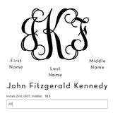 ENGRAVED MONOGRAM BRIDAL PARTY HANGERS - EVERY BRIDE BRIDAL