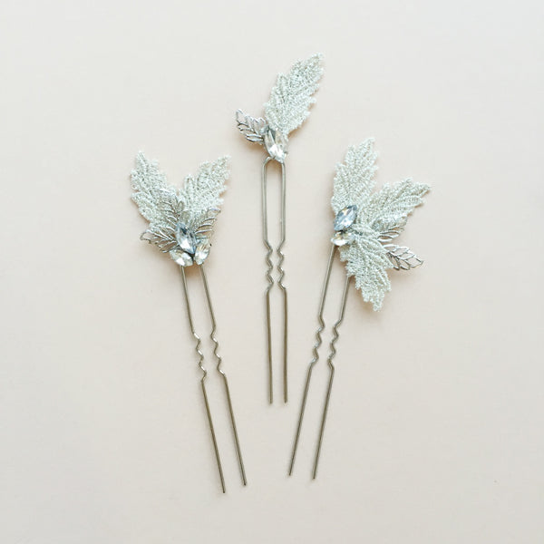 Olivia Hair Pins - EVERY BRIDE BRIDAL