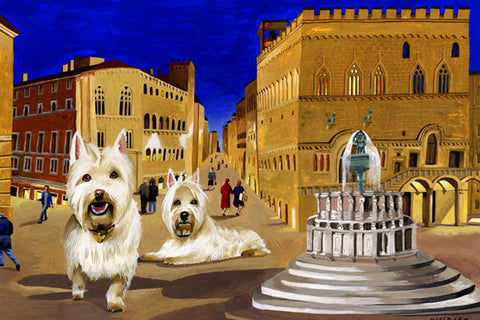 Westies in Perugia
