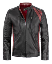 Load image into Gallery viewer, LEATHER KING Challenger Style Jacket ( Model # LK 0005 )