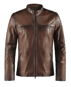 LEATHER KING Vintage Motorcycle Styles ( Model # 0007 )