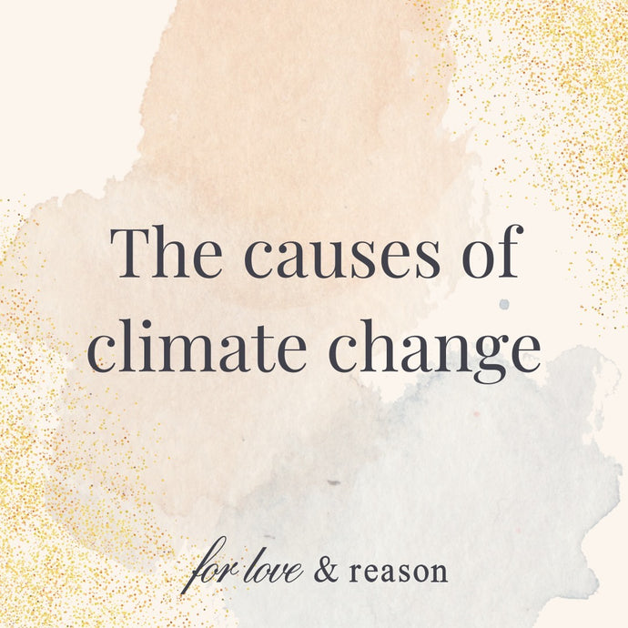 What are the causes of climate change?
