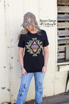 Atoka Aztec Graphic Top