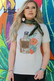 Frisky Whiskey Graphic Top