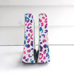 Multi Color Leopard Stirrups