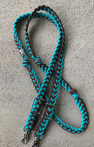Custom 8ft Navajo Braided Reins