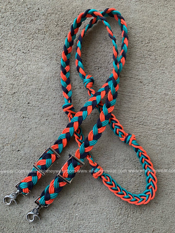 Custom 8ft Malibu Braided Reins