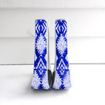 Royal Blue Aztec Stirrups