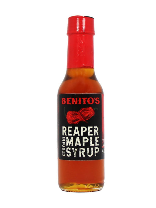 Benito's Reaper Infused Maple Syrup - A Slice of Vermont