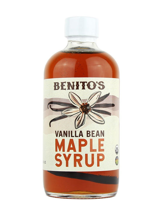 Benito's Vanilla Bean Infused Maple Syrup - A Slice of Vermont