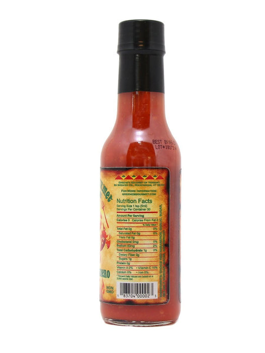 Greene's Gourmet Atomic Habanero Hot Sauce - A Slice of Vermont