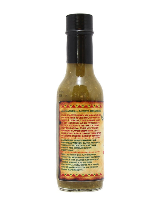 Greene's Gourmet Very Verde Hot Sauce - A Slice of Vermont