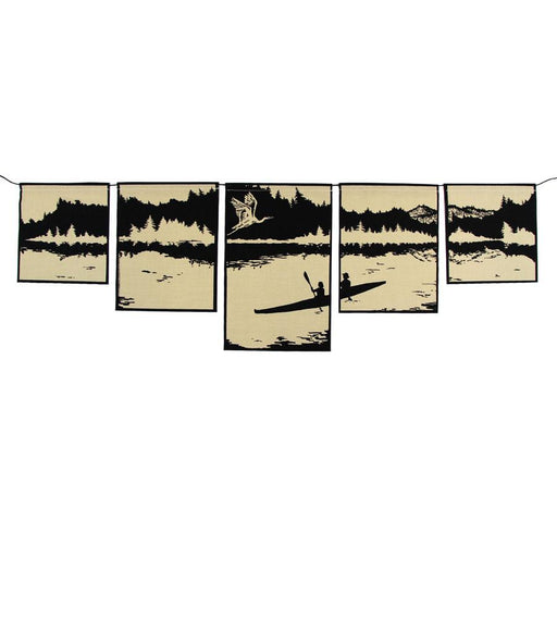 Hawthorn Meadow Farmstead Studios - Waterways Flag Set - A Slice of Vermont