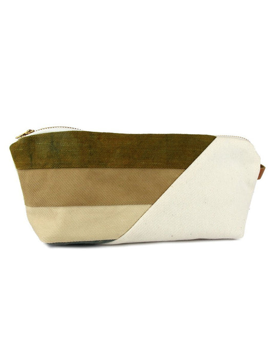 Hello Hue Studio - Large Zipper Pouch - Field - A Slice of Vermont