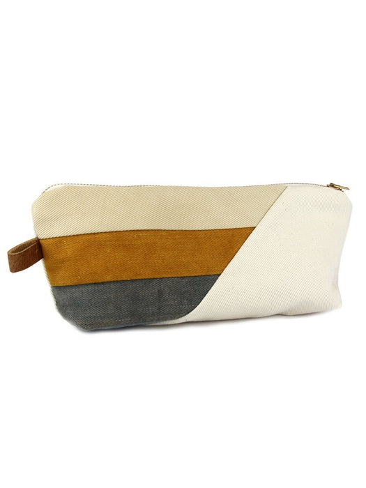Hello Hue Studio - Large Zipper Pouch - Lakeside - A Slice of Vermont
