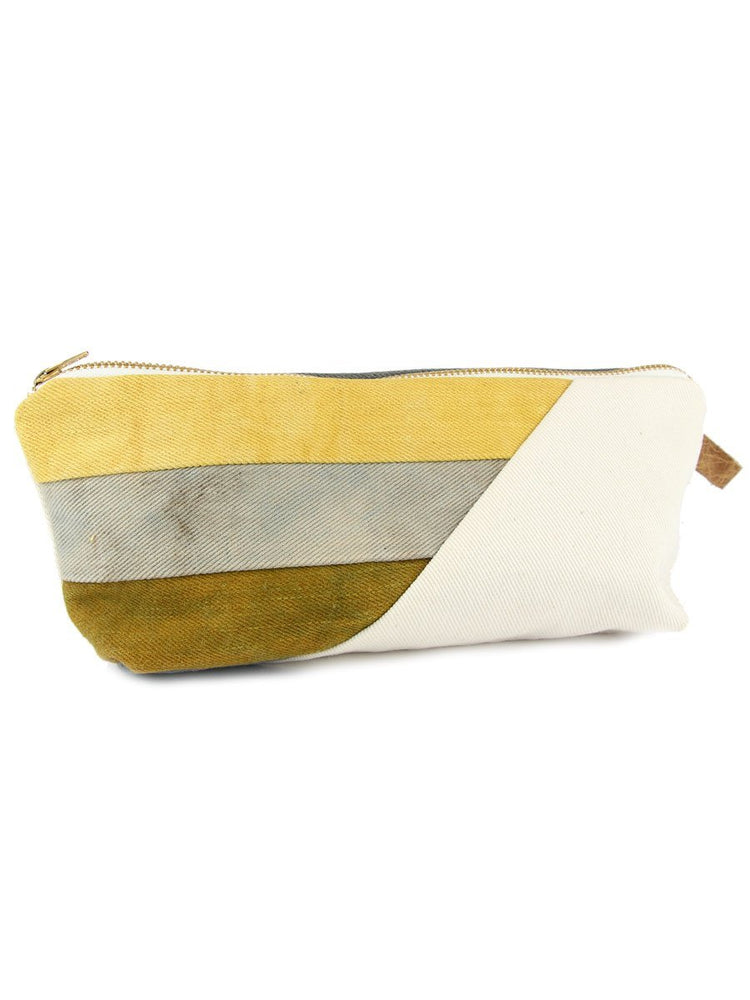 Hello Hue Studio - Large Zipper Pouch - Moss - A Slice of Vermont