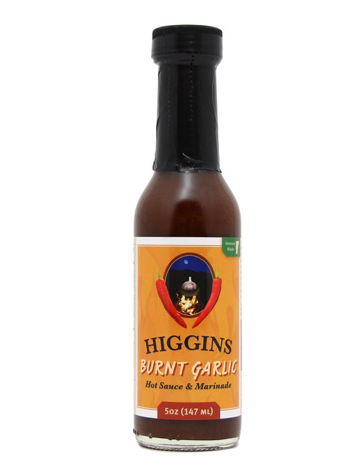 Higgins Burnt Garlic Hot Sauce & Marinade - A Slice of Vermont