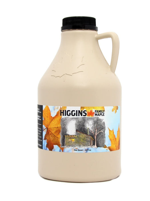 Higgins Family Maple Syrup - Amber Rich - One Quart (32 fl oz) - A Slice of Vermont