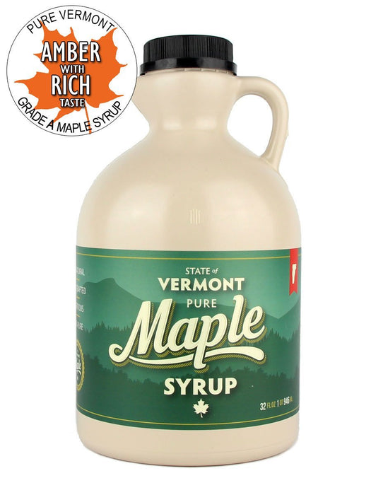 Lamb Sugarworks Maple Syrup - Amber Rich - A Slice of Vermont