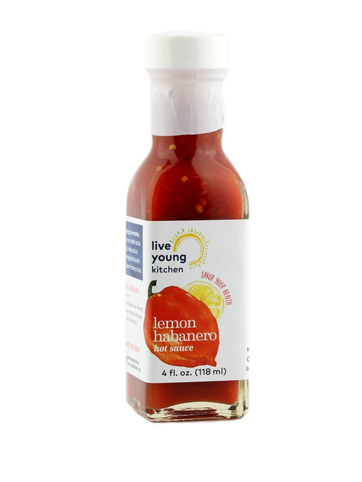 Live Young Kitchen - Lemon Habanero Hot Sauce - A Slice of Vermont