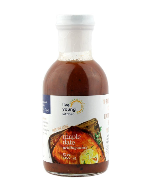 Live Young Kitchen - Maple Date Grilling Sauce - A Slice of Vermont