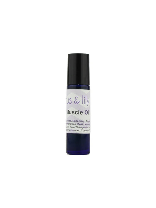 Lotus & Lily - Mad Muscle Oil Roll-On - A Slice of Vermont