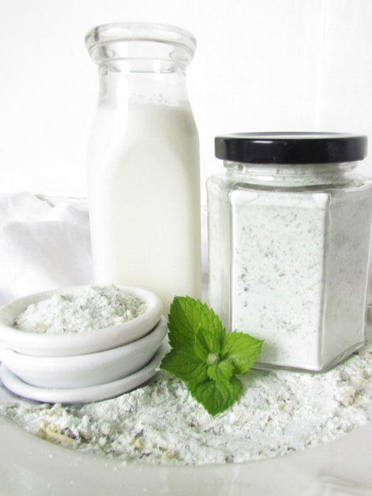 Sheep Shop - Sheep Milk Bath Soak - Refreshing Garden Spearmint - A Slice of Vermont