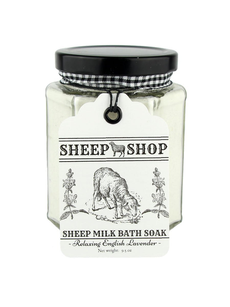 Sheep Shop - Sheep Milk Bath Soak - Relaxing English Lavender - A Slice of Vermont