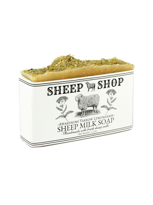 Sheep Shop - Sheep Milk Soap - Awakening Yarrow Lemongrass - A Slice of Vermont