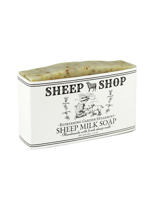 Sheep Shop - Sheep Milk Soap - Refreshing Garden Spearmint - A Slice of Vermont