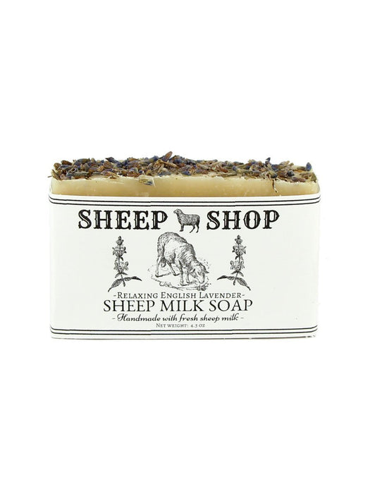Sheep Shop - Sheep Milk Soap - Relaxing English Lavender - A Slice of Vermont