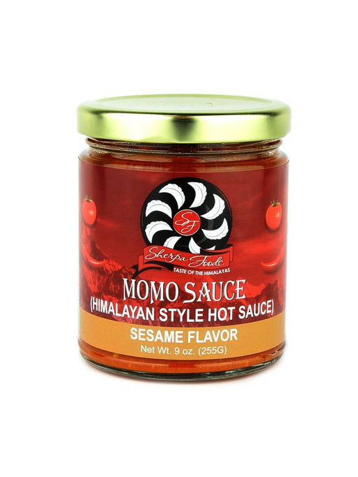 Sherpa Foods Momo Sauce (Himalayan Style Hot Sauce) - Sesame Flavor - A Slice of Vermont